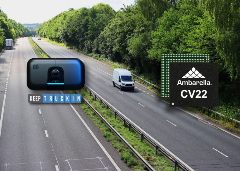 KeepTruckin Partners With Ambarella on AI Dashcam for Front ADAS, Driver Monitoring & Telematics 16