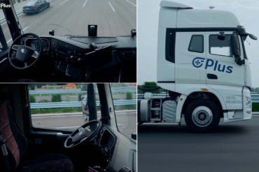 Plus Completes Driverless Level 4 Semi Truck Highway Demonstration (Video) 19