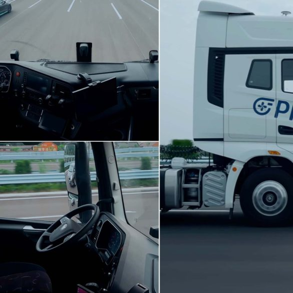 Plus Completes Driverless Level 4 Semi Truck Highway Demonstration (Video) 25