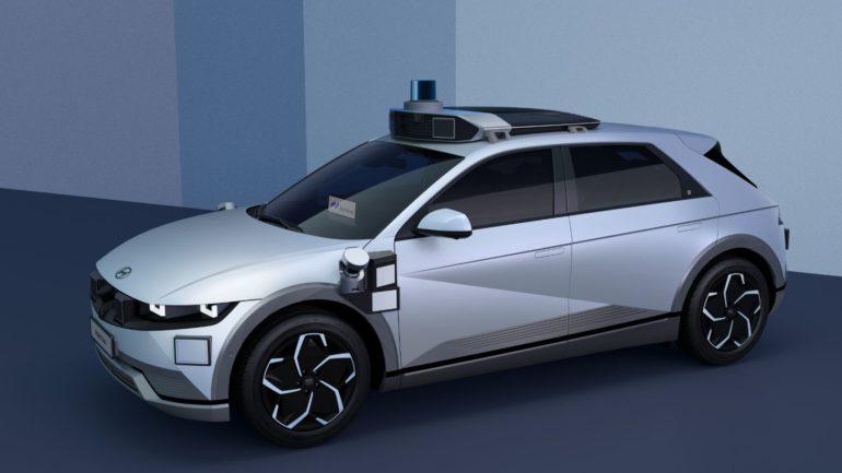 Motional & Hyundai Motor Group Unveil New IONIQ 5 Robotaxi 16